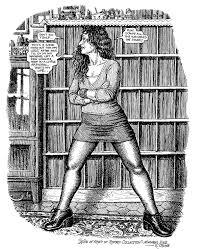 Robert Crumb S Illustration Of Aline
