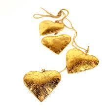 <b>Гирлянда подвесная Golden</b> Hearts, 4 шт. от <b>Enjoyme</b> (арт ...