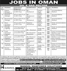 overseas jobs for i learningall jobs in oil and gas sector for 2015 16