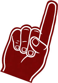 foam finger clipart. football foam finger clipart n