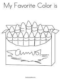 Small Picture Blue Crayon Coloring Page Coloring Coloring Pages