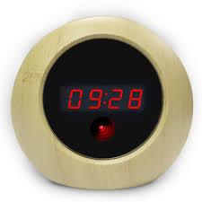 UMANOR Camera <b>Alarm Clock 1080P</b> Camera Motion Detection ...