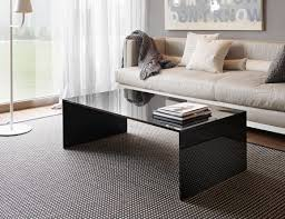 italian glass furniture. qubik italian designer rectangular glass coffee table handmade in black lacquered furniture