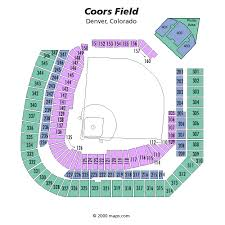 Breakdown Of The Coors Field Seating Chart Colorado Rockies
