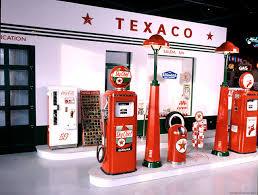 Gas Pump Vending Machine Beauteous Vintage 48s Texaco Gas Station Display