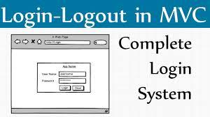 create mvc login page in c asp net mvc