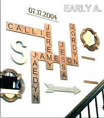 wall letter decoration letter wall decor wooden