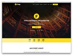 Simple Event Flyers 30 Awesome Wordpress Themes For Conference And Event 2019 Colorlib