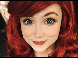 ariel from the little mermaid makeup tutorial costume makeup you