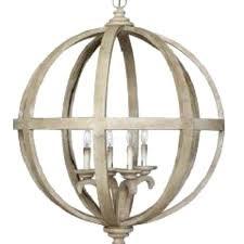 metal sphere chandelier cau wood and designs large