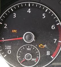 epc check engine volkswagen jetta