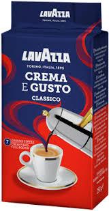 <b>Кофе</b> молотый <b>LAVAZZA Crema e</b> gusto натур. жареный в/с м/у ...