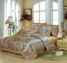 gold and silver comforter set queen