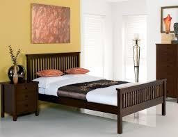 Atlanta Dark Wood Bed Frame King  Bedframescouk Interiors - Atlantis bedroom furniture