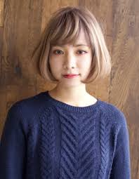 流行りのフェミニンボブky 012 ヘアカタログ髪型ヘアスタイル
