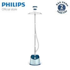 Mã ELHAJAN giảm 7% đơn 500k] Bàn ủi hơi nước đứng Philips GC518 (Xanh) -  Hãng phân phối chính thức