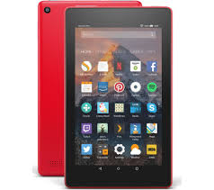 Alexa 7 Currysie Punch Gb Delivery - Fire Tablet Amazon 2017 Fast Red With 8