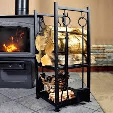 Contemporary Firewood Rack