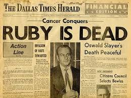 「Ruby died of lung cancer in a Dallas hospital.」の画像検索結果