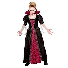 Amazon.com: Victorian Vampiress   Kids Halloween Fancy Dress Costume: Home  Improvement