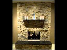 Re-cover a brick fireplace with stone. If we ever have a house with