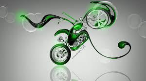moto mini chopper fantasy plastic bike