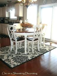 rug under round kitchen table. Delighful Rug Rug Under Kitchen Table Area Image Of Rugs For  Tables Dining Room Gallery Round  And R
