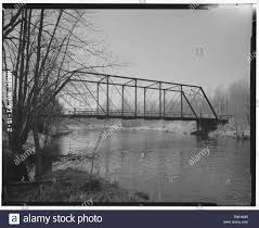 SIDE VIEW LOOKING NORTHWEST - Polley Lane Bridge, Spanning Yellow River at Polly  Lane, Gilman, Taylor County, WI; Wegman-French, Lysa, transmitter Stock  Photo - Alamy
