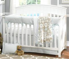 blue and gray nursery bedding appealing blue crib bedding set baby cribs