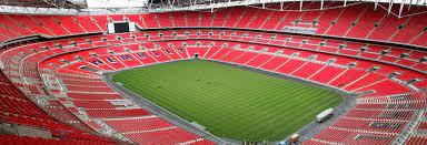 Tour door het Wembley Stadium in Londen ...