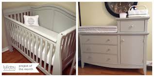 painted baby furniture. We Love Seeing What You Do With Our Non-toxic** Lullaby Paints And Today We\u0027re Sharing Newest DIY Project Of The Month \u2013 A Gorgeous Painted Crib Baby Furniture I