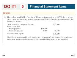 64 1 64 5 financial statement items lo 5