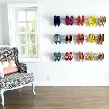 wall mount shoe rack wall mounted shoe rack and storage stunning photos wall mounted shoe racks