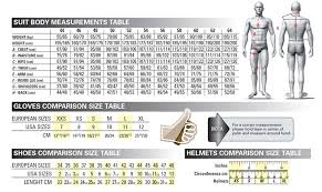 Sedici Race Suit Size Chart Best Picture Of Chart Anyimage Org