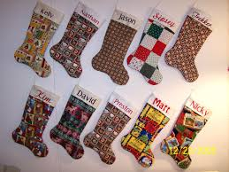 Handmade Christmas Stockings Christmas Handmade Stocking With Character Christmas Handmade