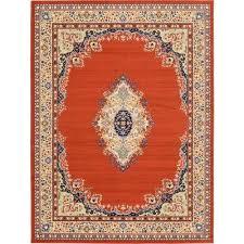 reza washington terracotta 9 10 x 13 0 area rug