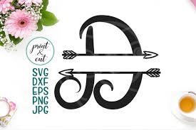 3axis.co have 45 split alphabet eps free vectors download. Free Monogram Letter D Split Font With Arrows Individual Letters Split Crafter File