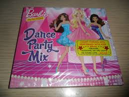 Barbie Dance Party Mix 50 Minutes Of Music Cd 2012