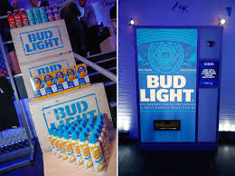 Bud Light Vending Machine Fascinating Bud Light UK Launch The Persuaders