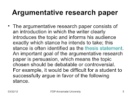 how to write a research paper argumentative research paperbull