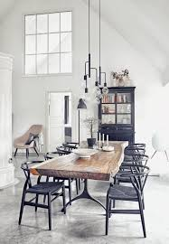 scandinavian lighting design. This Modern Scandinavian Interior Design Has An Interesting Look Since It Combines The Old And New Trends. Dining Table, Industrial Lighting