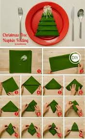 How To Fold Christmas Tree Napkins Pictures, Photos, and Images ...
