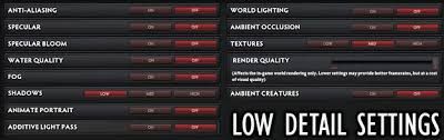 dota 2 image quality and detail settings dota 2 performance