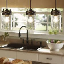 allen roth vallymede 3 7 in w aged bronzemini pendant light with clear glass