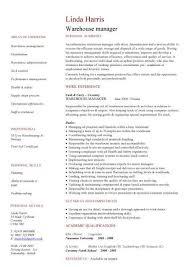 Delightful Design Warehouse Resume Template Warehouse Worker Resume