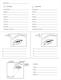 blank mac face chart trustmyself