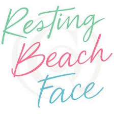 340x270 resting beach face svg resting beach face summer svg beach. Resting Beach Face Svg Dxf Vacation Cutting Craft Genesis