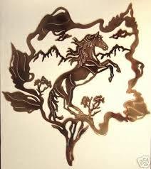 western metal wall art for sale