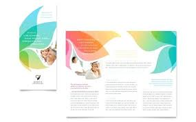 Word Brochure Template Tri Fold Designs Business Templates Ideas For