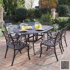 garden furniture dining set uk. uk stunning metal patio furniture sets aluminum versus wrought iron outdoor elegant garden dining set